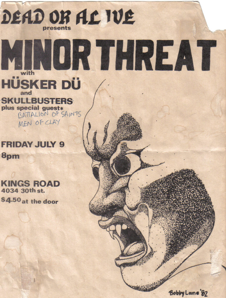 Screaming at a wall … Three straight nights with Minor Threat