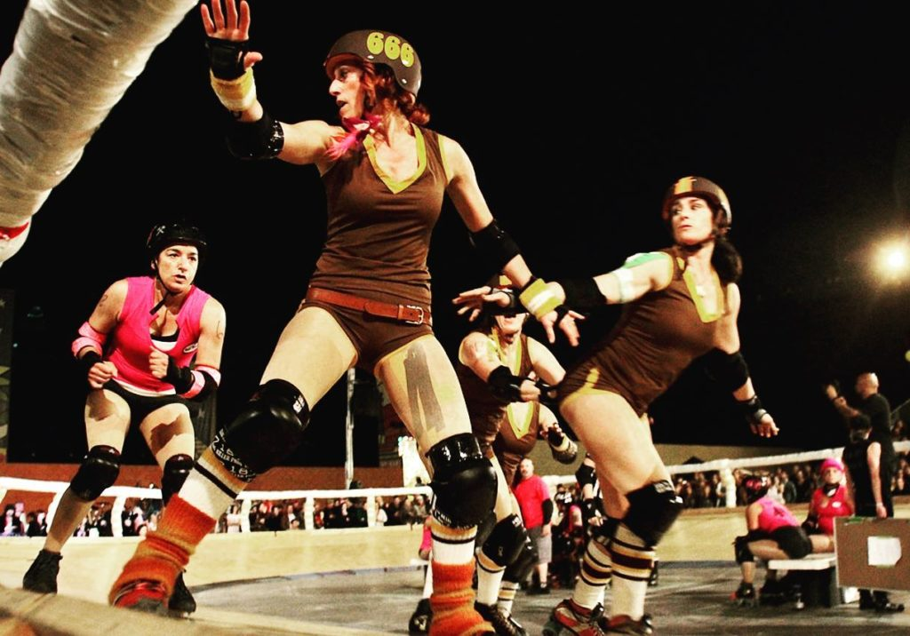 Long Beach Roller Derby photo by Tom Underhill