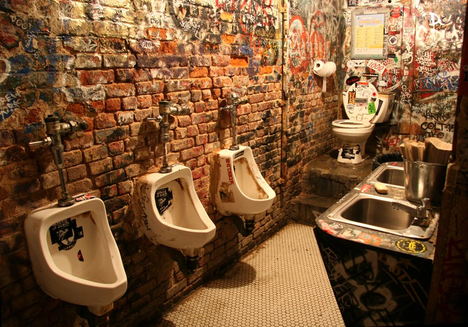 Dive Bar Purposely Makes Bathrooms Disgusting to Keep Street Cred Legit