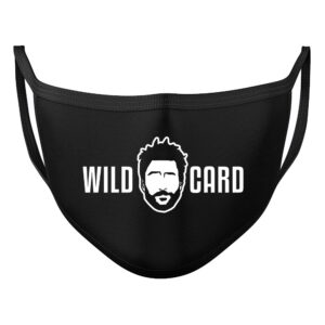 Wildcard Charlie 100% cotton face mask