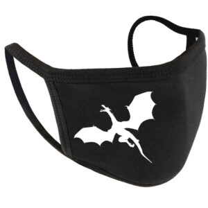 Flying Dragon Cotton Face Mask