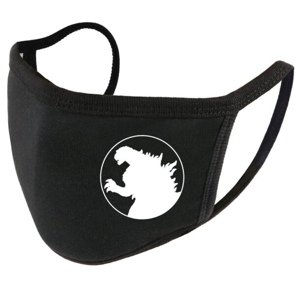 Godzilla Cotton Face Mask