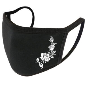 Tattoo Roses Cotton Face Mask