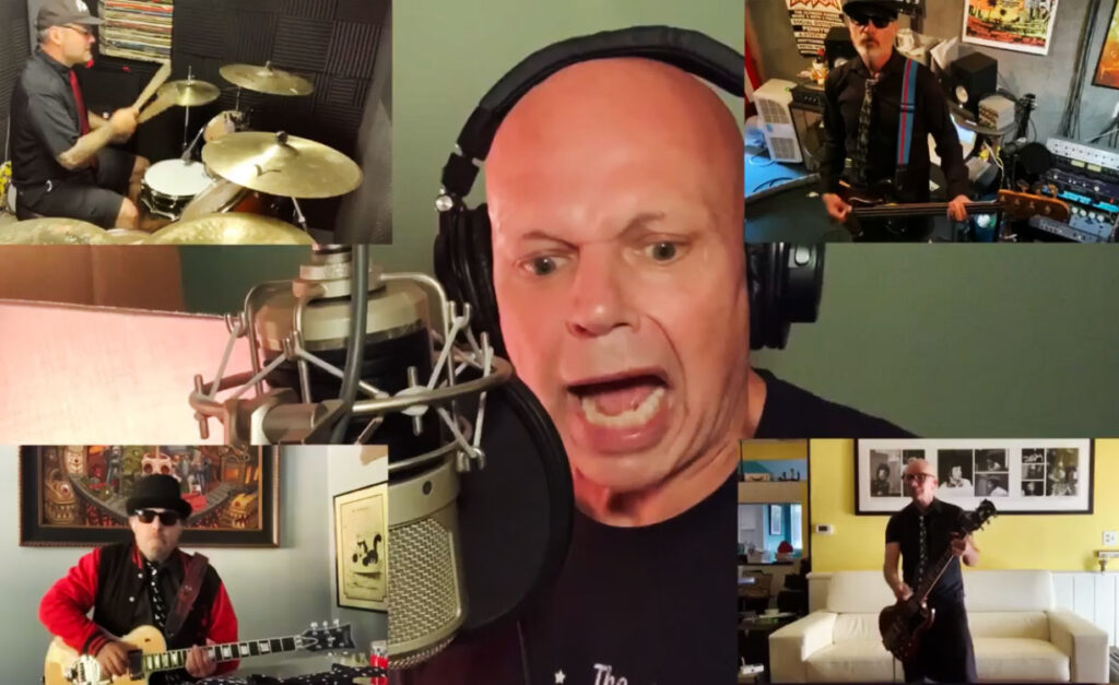 Former MTV host Matt Pinfield Slays this Motorhead cover